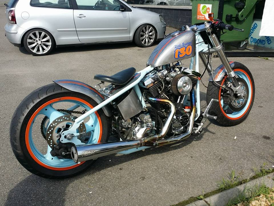 Harley Davidson 1340 Evo Bobber Build Youtube
