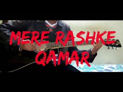 Mere Rashke Qamar - Baadshaho - Guitar Tutorial - Play Along - Easy Chords