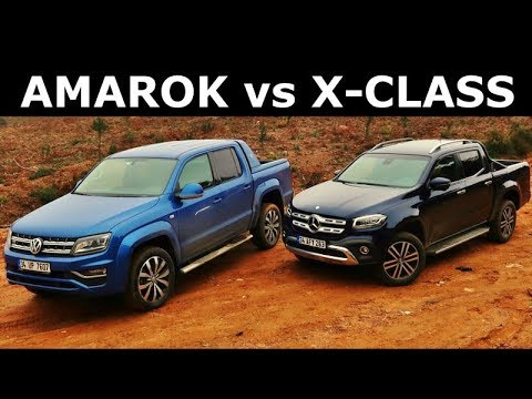 Vw Amarok Vs Mercedes X Class Karsilastirma Youtube