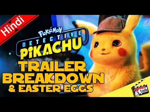 POKÉMON Detective Pikachu Trailer BREAKDOWN [Explained In Hindi]