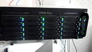 18 TB RAID 6 NAS rebuilding failed drive