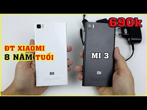 Chiếc điện thoại Xiaomi 8 Năm Tuổi, Mở hộp Mi 3 giá 690k trên LAZADA, SHOPEE | MUA HÀNG ONLINE