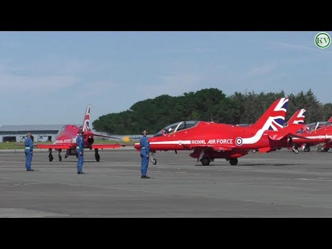 Red Arrows Newquay Airport, Landing, Fuel Stop, for IOS Display