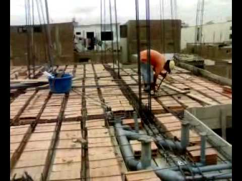 03 encofrado e instalaci n el ctrica techo 3er piso - Desague bano ...