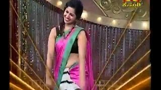 anushree Anchor hot nevel dance show kannada 2
