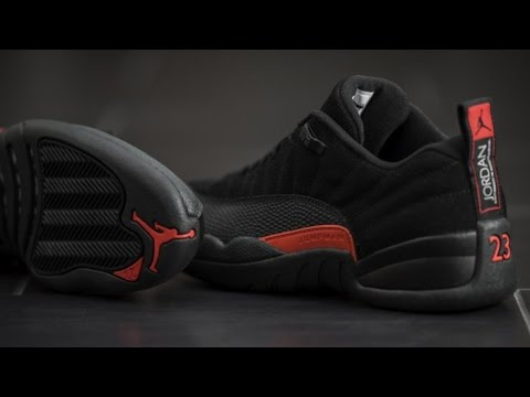 factory authentic 867d5 616a7 Air Jordan 12 Low   Max Orange   Unboxing + On Feet
