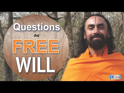 Is there a free will | Free will vs Predestination | Q&A with Swami Mukundananda | JKYog Retreat