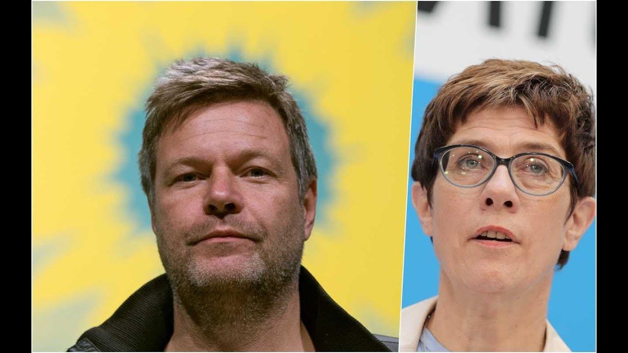 SONNTAGSFRAGE Die Grünen bauen Vorsprung vor der Union aus