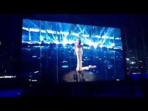Ruth Lorenzo - Dancing In The Rain (2º rehearshal - TV Performing)