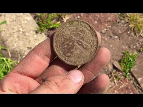 Back in the USA Metal Detecting Downtown Pascagoula Mississippi