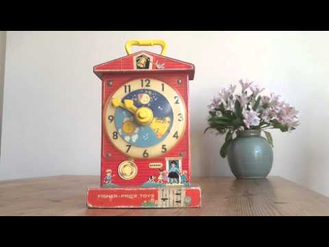 Fisher Price Teaching Clock Fnaf