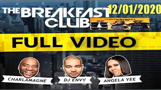 Power 105.1 FM Breakfast Club 12/01/2020 Full Audio