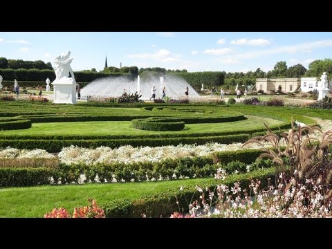 Herrenhäuser Gärten In Hannover Youtube