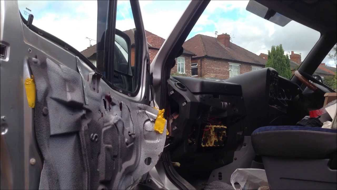 iveco project: installing heated mirrors - youtube