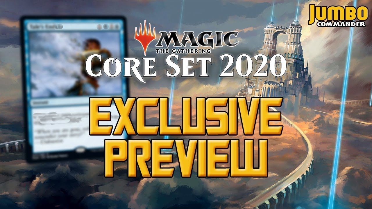 Mtg Banned List Update 2020.Magic Core Set 2020 Exclusive Preview Card Tale S End