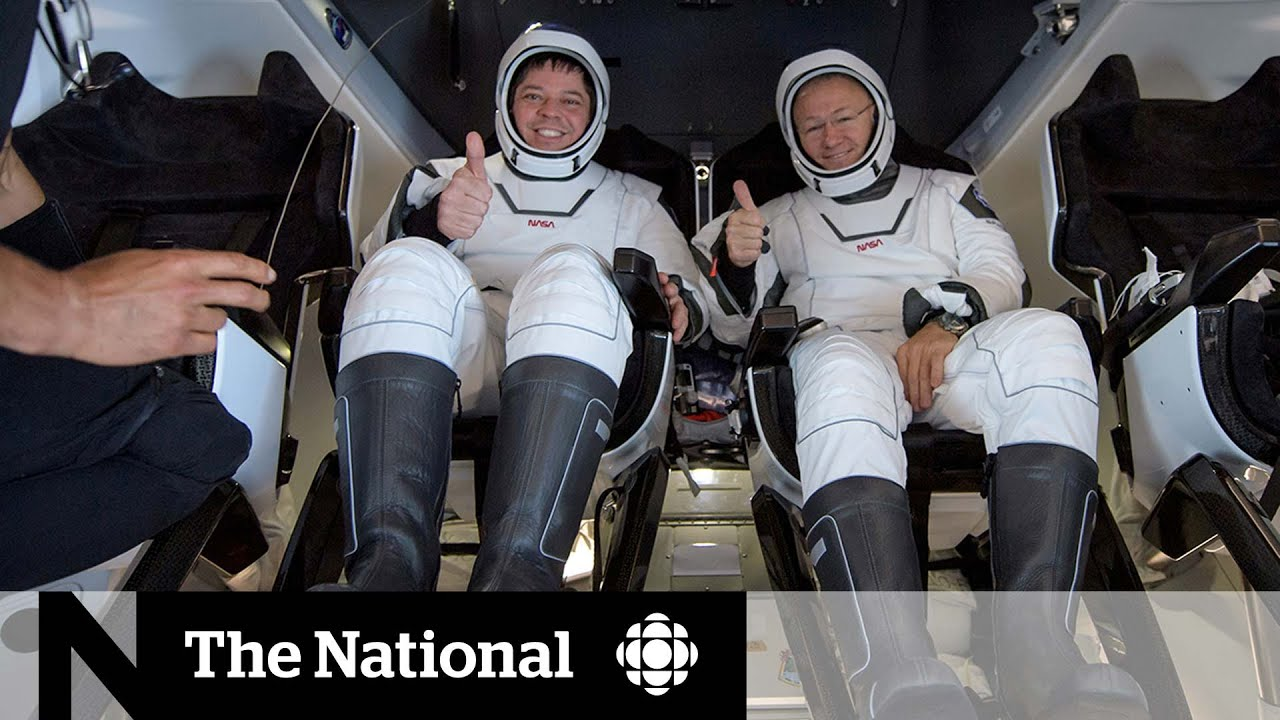 SpaceX mission 'surreal' for astronauts - CBC News: The National