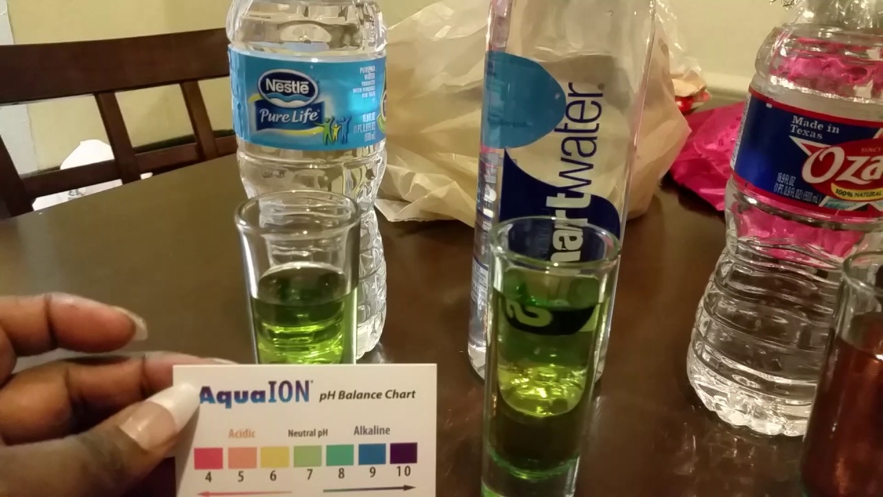My Ph Level Water Test