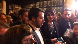 Salvini a Sanremo con la Isoardi: parlo di musica non di politica