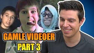 Reagerer på mine gamle videoer