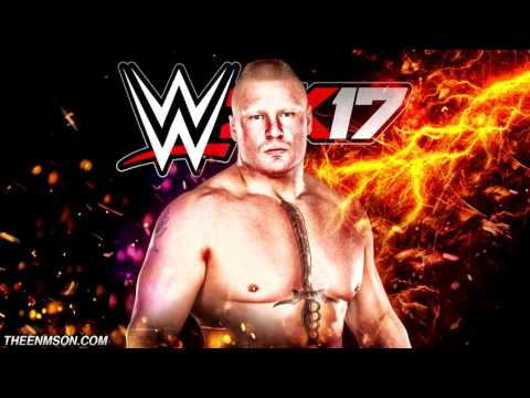"#WWE2K17 | Brock Lesnar Theme ""Next Big Thing"" (V2) (HQ + Arena Effects)"