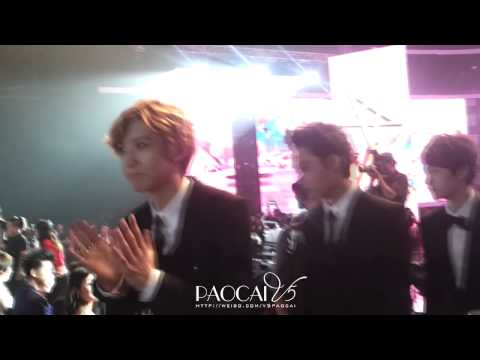 [Fancam] 120917 EXO - Men in Suits @ The 5th Mengniu Music Awards