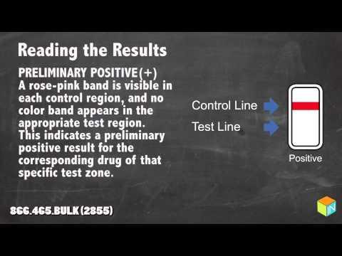 COT-One Step Cotinine Test Instructional Video By DrugTestsinBulk.com
