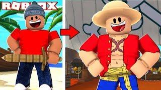 A NOVA VIDA DE PIRATA - Roblox Steve's One Piece