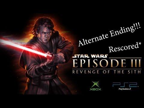 Revenge Of The Sith Alternate Ending Rescored Star Wars Youtube