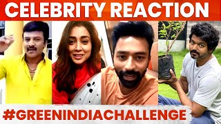 Celebrities Reaction On Thalapathy Vijay's Sapling attempt - 12-08-2020 Tamil Cinema News