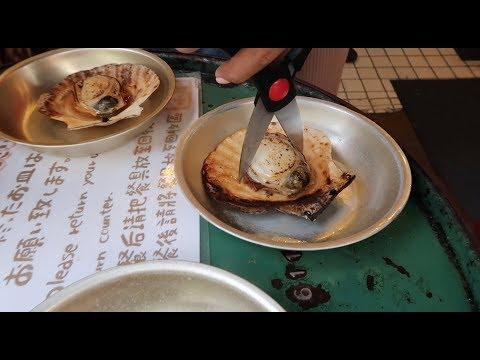 Breakfast At Tsukiji Fish Market In Tokyo!