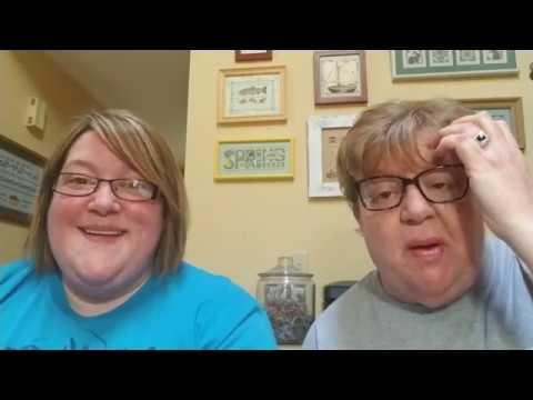 FlossTube #48 - Pam & Steph Cross the Maynia Finish Line