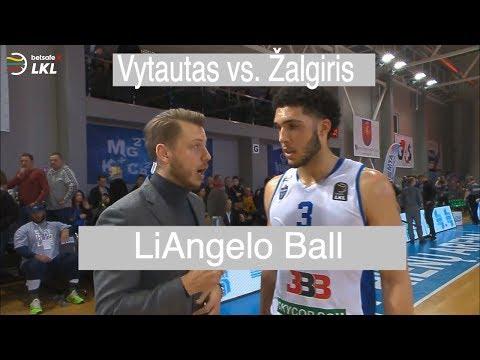 """""""Betsafe–LKL"""" rungtynių įrašas: """"Vytautas"""" - """"Žalgiris"""" [2018-02-04] (LaMelo and LiAngelo Ball)"""