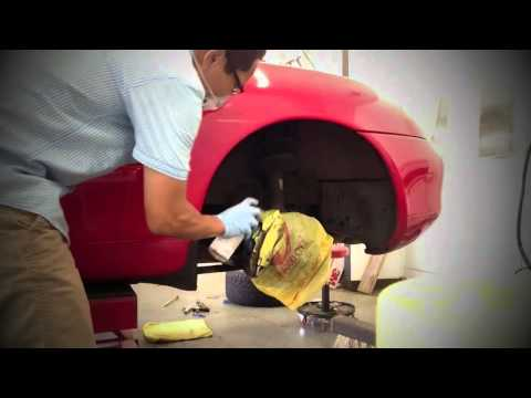 DIY: Painting the Calipers on my Porsche Boxster