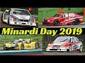 Historic Minardi Day 2019 - GranTurismo, DTM & Prototypes - Alfa-Romeo 155 V6 TI, 75 IMSA, LMP3 etc
