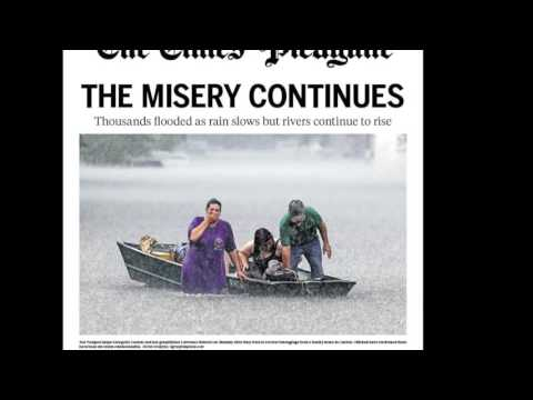 Louisiana Flood of 2016: Times-Picayune front pages