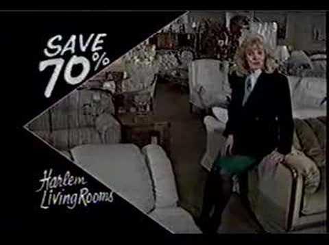 Harlem Furniture Commercial 1988 Youtube