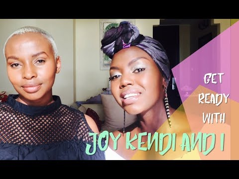 GET READY WITH US: Joy Kendi And I Share Make Up Tips To Beat Humidity || Patricia Kihoro
