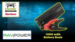 Ravpower 14000mah Portable Car Charger Battery Bank Review Youtube