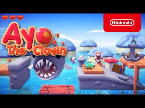 Ayo the Clown - Announcement Trailer - Nintendo Switch