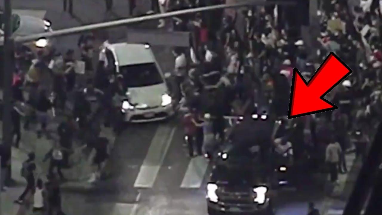 Protesters Go Full Mad Max in Downtown LA