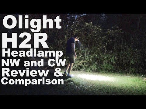 Olight H2R Headlamp Review and Comparison Is 2300 lumens the Brightest ever?