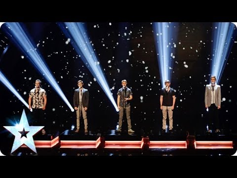 Musical theatre boyband Collabro sing Bring Him Home  Britains Got Talent 2014