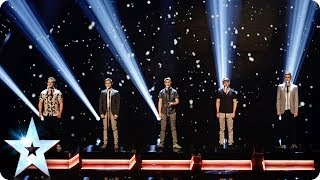 Video Musical theatre boyband Collabro sing Bring Him Home | Britain's Got Talent 2014 download MP3, 3GP, MP4, WEBM, AVI, FLV Agustus 2017