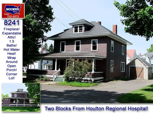 Maine Real Estate Home Listings | Properties Near Houlton Regional Hospital MOOERS REALTY 8241