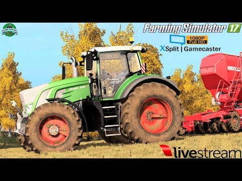 Farming Simulator 17 | LIVE Streaming Enns Am Gebirge by #Gaming Evolved 1080p