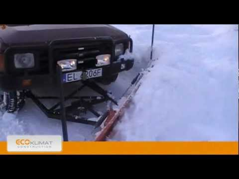 Snow plow for offroad and suv car 4x4 youtube