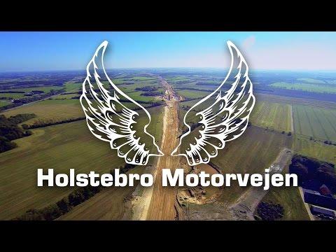 Holstebro Motorvejen fra Luften, mellem Tvis og Aulum