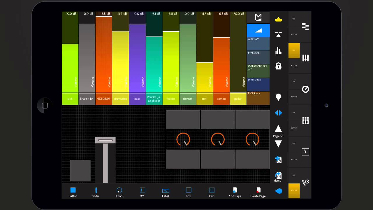 touchable 2 user guide template editor module control ableton