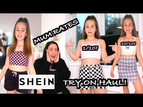 Mum Rates My SHEIN Try On Haul 2020