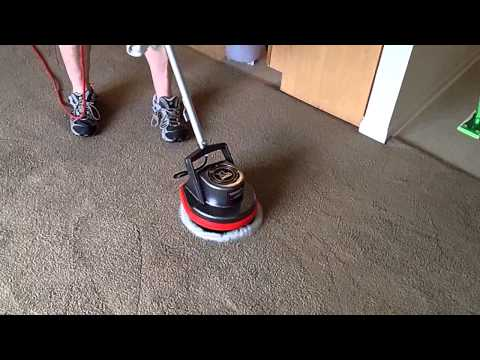 Oreck Orbitor 550mc Commercial Bonnet Cleaning Carpet
